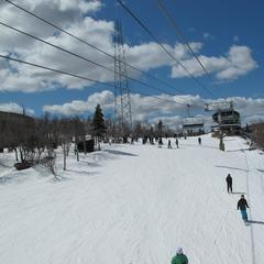Excellent spring conditions allow Hunter to extend season to April 14, 2013. Photo Courtesy of Hunter Mountain.