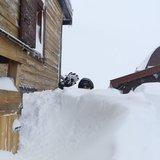 Kwietniowe śnieżyce we Włoszech - © Val di Fassa Facebook