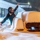 Francúzsko pod snehom - © facebook | VARS la Forêt Blanche