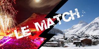 Le match Tignes / Val d'Isère ©Andy Parant / JP Noisillier