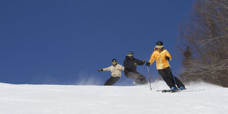 How to Ski Cheap, or Free, This Spring in the Northeast ©Okemo Mountain Resort