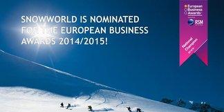 SnowWorld genomineerd voor European Business Awards 2014/2015 ©The European Business Awards (EBA)