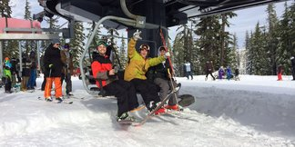 Skiing for Thanksgiving? Here's Where to Head ©Mt. Bachelor Resort