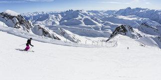 L'Alpe d'Huez : Sarenne et le Pic Blanc ouverts ce week-end ©L.Salino