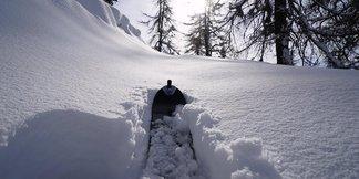 Op til 1 meter nysne i alperne ©Società Guide Alpine Courmayeur (Facebook)