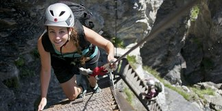 Klettersteiggehen mit Kindern: Was muss man beachten? - ©Weisse Arena Gruppe