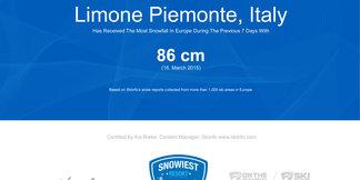 Snowiest Resort of the Week: Víťazstvo patrí Piemontu ©Skiinfo