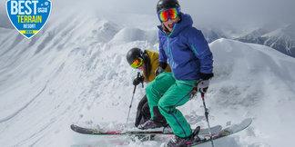 Best Ski Resort Terrain for 2015: Lake Louise ©Shannon Martin