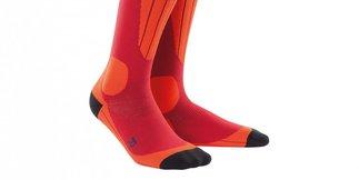 Mit Kompression entspannter durch den Skitag: CEP Ski Thermo Socks im Skiinfo-Test ©CEP