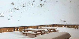 Świeży śnieg w Alpach [galeria zdjęć] ©La Plagne