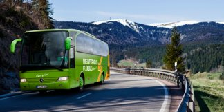 FlixBus erweitert sein Streckennetz: Regelmäßige Fahrten in Tiroler Skigebiete ©MeinFernbus/Flixbus