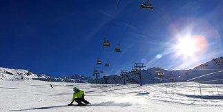 Raport śniegowy: Gdzie się podział śnieg!? Co z tą zimą? ©FB Obergurgl/Hochgurgl