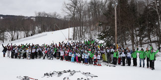 Largest Ski Lesson Could Claim Guiness Record ©Wachusett Mountain