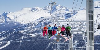 Infographic: Resorts With the Most Trails & Lifts ©Paul Morrison/Whistler Blackcomb