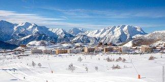 Snow, snow everywhere in French Alps Nov. 13, 2016 - © Alpe d'Huez