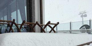 Schneebericht: Früher Wintereinbruch und starke Schneefälle ©Facebook Hintertuxer Gletscher