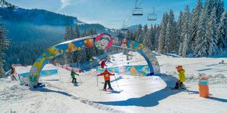 Ski à Crest-Voland Cohennoz - © Labellemontagne Crest-Voland Cohennoz