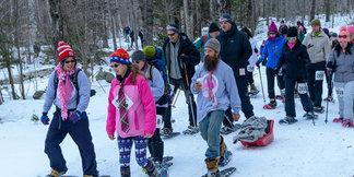 Komen Vermont Snowshoe ©Stratton Mountain