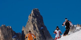 Val di Fassa - Zima piękna jak bajka