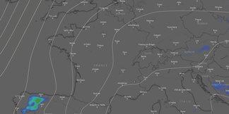 #Météo des neiges : situation et prévisions pour les prochains jours - ©Capture d'écran Windy.com