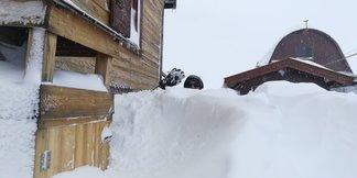 Super nevicata sulle Alpi! 3-4-5 Aprile 2019 - © Val di Fassa Facebook