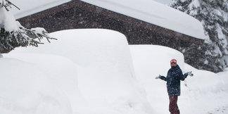 Alpy pod sněhem (leden 2019) - © Facebook Zillertal Arena