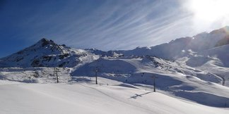 Open ski resorts in November ©Ischgl