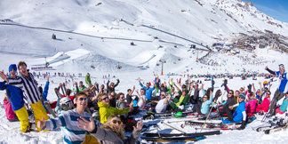 Espace Killy: One ski area, two very different resorts ©Tristan Shu