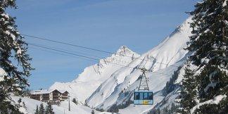The highest ski resorts in Europe ©Oberlech