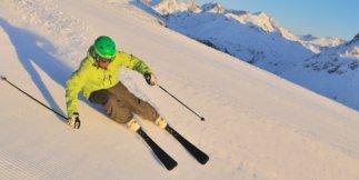Najväčšie lyžiarske strediská v Rakúsku: 1 - Ski Arlberg  St. Anton - Lech Zürs - Warth-Schröcken 