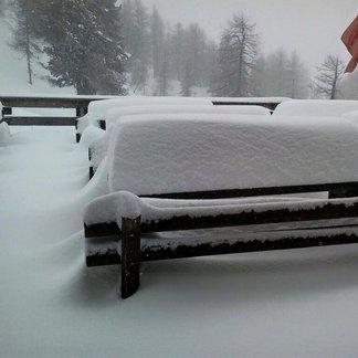 29.2.2016 - Powderalarm in Italien und den Südalpen - © Cortina Faloria Facebook
