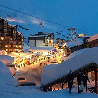 Sníh je zpět! Alpy 13.3.2018 - © Val Thorens/Facebook