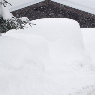 Alpy od śniegiem (styczeń 2019) - © Facebook Zillertal Arena