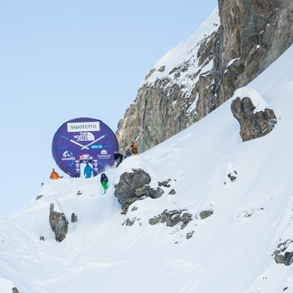 Freeride World Tour 2013 - Courmayeur - © Freerideworldtour.com/ D. Aher
