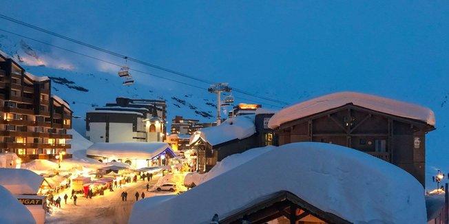 Terugkeer van de winter in de zuidwest Alpen - 12 en 13 maart 2018 - © Val Thorens/Facebook