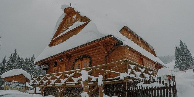 Sněhová nadílka na Oravě | leden 2019 - © facebook Ski Zábava Hruštín