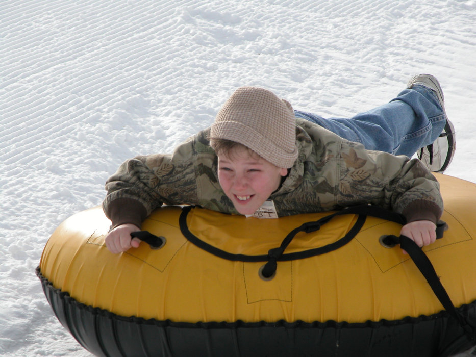 Perfect North Slopes offers one of the biggest tubing parks in the lower Midwest.