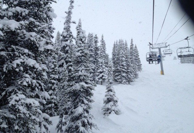 lots of snow n powder everywhere !