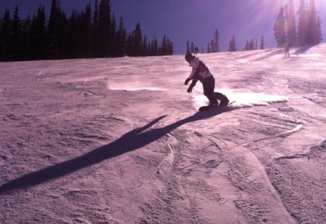 basin was awesome Thursday. snow was decent, no crowds.