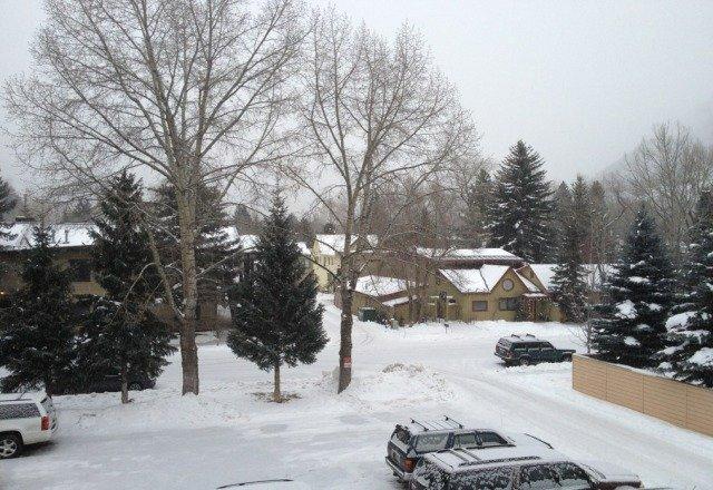 Snowing in Aspen