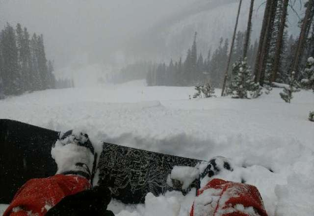 Fresh conditions! Get here!