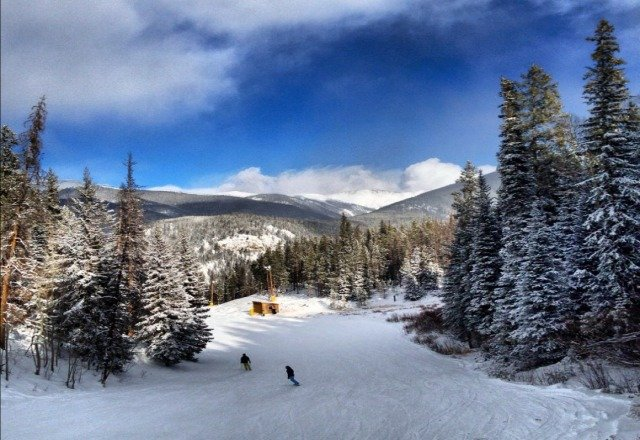 Sunday afternoon at Keystone.