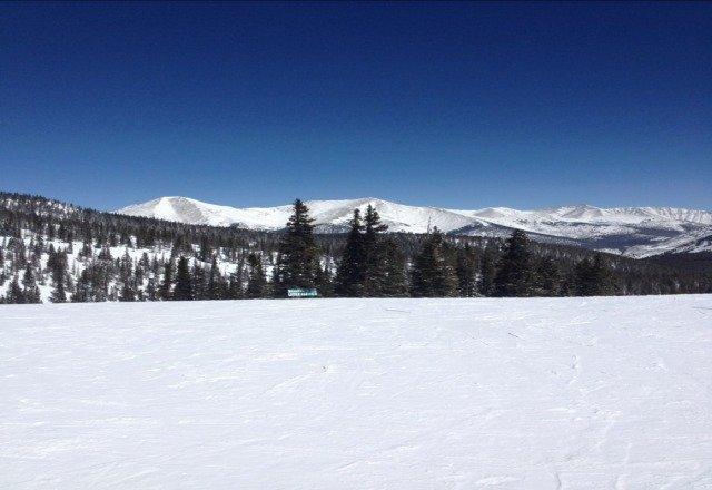 Bluebird day, great snow!
