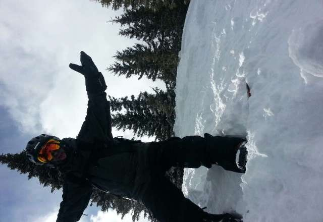 Ya all already know Creek is where it's at. Rode yesterday.  Cold as Heck but snow was great both front & back. BooYa.  JJ