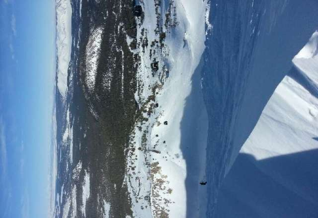 Mammoth rocks! Here is a view from the top of the gondola.