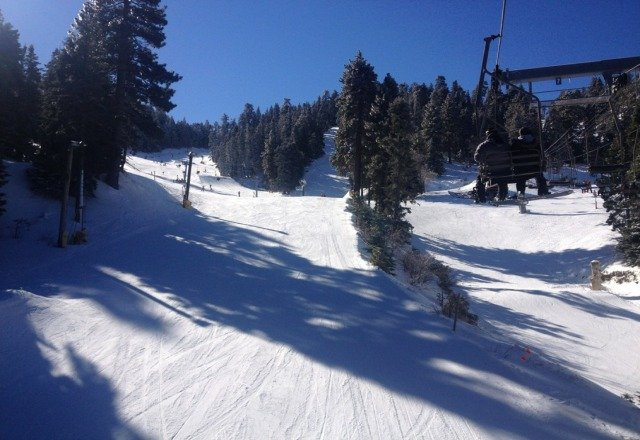 great day at mt high yesterday... snow was awesome!!