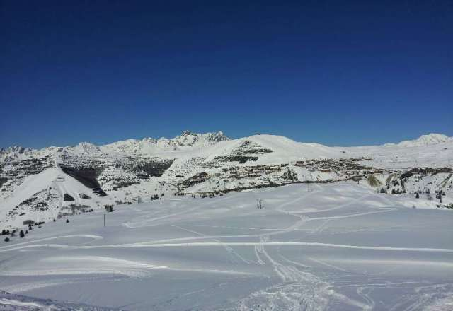 Excellent day on the skis, amazing weather forecast for all week.