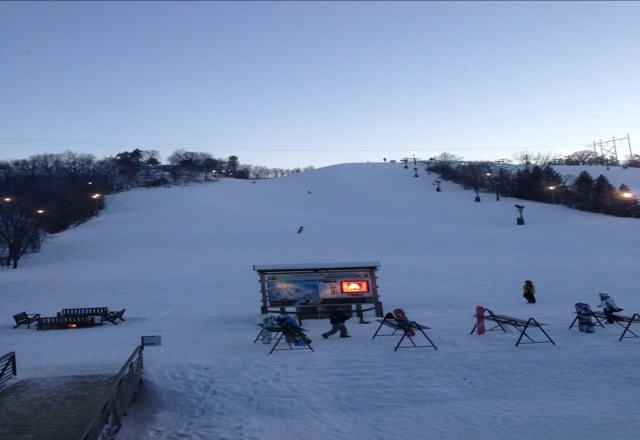 awesome conditions tonight