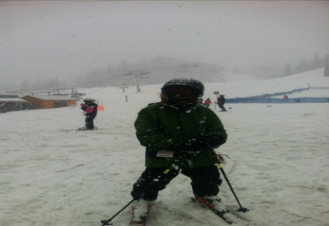Good mix of spring skiing and fresh powder over the last week.