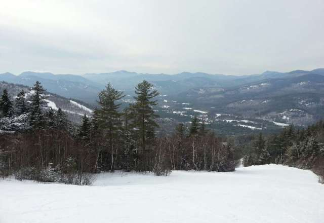 is was awesome all day. spillway was great, some pow on sides.
